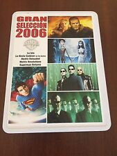 LA ISLA - NOVIA CADAVER - MATRIX RELOADED & REVOLUTION - SUPERMAN RETURNS 5 DVD