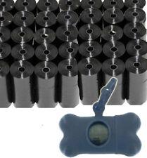 Dog Poop Bags for 1000 Unscented Black Waste Scoop w/ Leash Dispenser