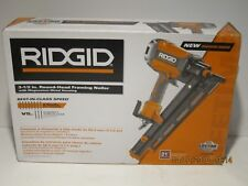 "RIDGID R350RHF 21 Degree 3-1/2"" Round-Head Framing Nailer-F/SHIP NEW SEALED BOX"