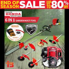 Black Eagle Multi Tool Brush Cutter with Honda GX35 4-Stroke Engine - Red