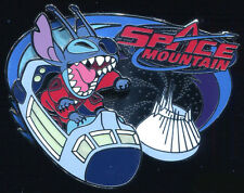 DLR  Mickey's Pin Odyssey 2008 Stitch on Space Mountain Disney Pin 61850