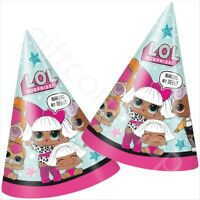 Dino Dinosaur Party Hats Cone Paper Kids Birthday Party Bag Fillers Supplies x 8