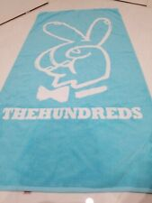 The Hundreds Beach Towel Baby Blue/White Super Limited Edition