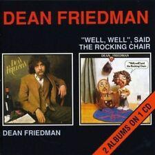 DEAN FRIEDMAN Dean Friedman & Well, Well, Said The Chair DELUXE 2on1 CD