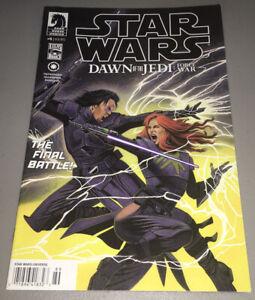 STAR WARS DAWN OF THE JEDI: FORCE WAR #5 Dark Horse NEWSSTAND Variant RARE HTF