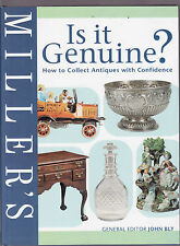 IS IT GENUINE ? : HOW TO COLLECT ANTIQUES WITH CONFIDENCE - JOHN BLY   bp