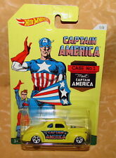 HOT WHEELS Captain America 1/8 '40 ford cuopè  cod.16582