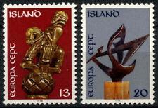 Iceland 1974 SG#527-8 Europa, Sculptures MNH Set #D56282