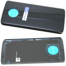 Replacement Battery Cover Panel Adhesive Black for Moto Motorola G6 Plus OEM