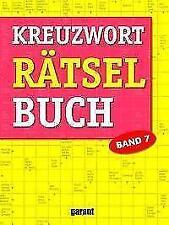 Kreuzworträtselbuch Band 7 (2017, Taschenbuch)
