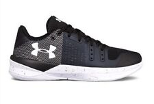 Under Armour UA Women's Block City Volleyball Shoes Black 1290204 010 Size 7.5