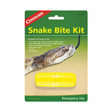 Coghlans Emergency Snake Bite Kit Camping Hiking Survival Bug Out Disaster