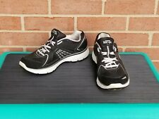 Skechers Tone Ups Womens Size 9.5 Resalyte Fitness Sneakers Shoes Black Silver