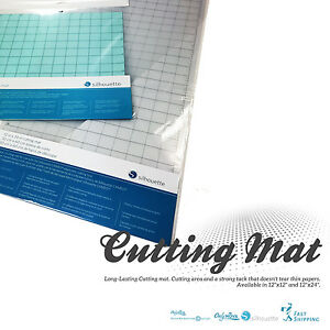 "Silhouette Accessory Cutting Mat 12"" x 12"" & 12"" x 24"" Free Shipping!!"
