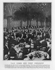 YALE DINES HER FIRST PRESIDENT TAFT DISTIGUISHED GRADUATE AT THE WALDORF ASTORIA