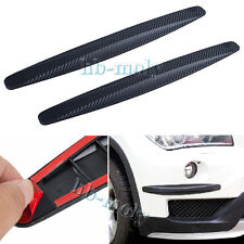 2x Auto SUV Carbon Fiber Anti-rub Protector Body Corner Bumper Guard For Ford