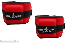 Water Gear Professional Aqua Cuff HEAVY Aqua Aerobics Aquatic RED Exercise 84175
