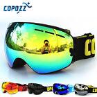 COPOZZ Skiing Snowboard Adult Goggles Anti-fog UV Snow Ski Mirror Dual Lense