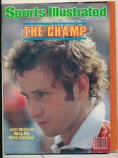 Sports Illustrated SEPTEMBER 21 1981 JOHN McENROE U.S. OPEN