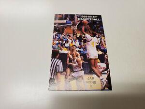 JS15 University of Akron 1988/89 Men's Basketball Pocket Schedule Card