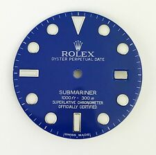 For Rolex Submariner Stainless Steel Ceramic Blue Color Dial