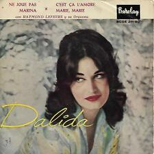 DALIDA EP Espagne 1959 Ne joue pas +3