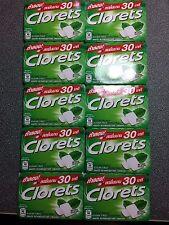 Clorets Cool Mint Gum Sugar Free 10 Packs