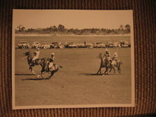 Polo HOF - Cecil Smith, Don Beveridge, Wayne Brown & Hugo Dalmar JR Horse Photo