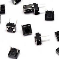 50PCS 6×6×4.3mm Tact Tactile Push Button Switch DIP-2Pin