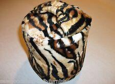 Fabric Faux Fur Soft Velboa Tiger Design Door Stop SewGoodShop