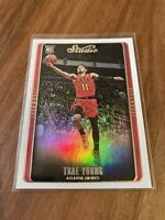 2018-19 Panini Chronicles #298 Trae Young Studio RC Rookie HAWKS