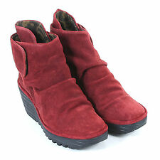 FLY London Velcro Boots for Women