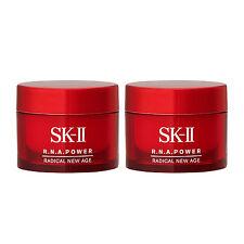 2 x SK-II Radical New Age 15g R.N.A. Power Skincare Moisturizers NEW Anti Aging