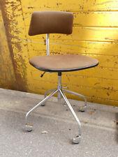 Schreibtischstuhl SIS Denmark Drehstuhl Bürostuhl Rollen 60er Vintage