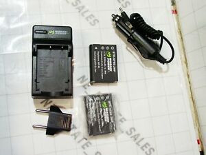 Wasabi Power KIT-BTR NP95 Fujifilm digital camera charger ac adaptor adapter kit
