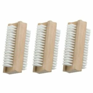 3 x Heavy Duty wood Nail Scrubbing Cleaning Retro Brush for cleaning -free post