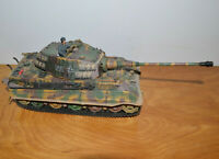 FORCES OF VALOR 1:32 German KING TIGER TANK Replica Model Unimax Military Toy