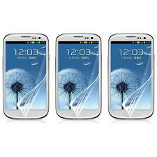 3X Clear Crystal LCD Screen Protector Guard Shield For Samsung Galaxy S3 SIII 4G