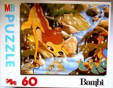 MB PUZZLE BAMBI DISNEY - HASBRO 1992