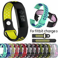 Replacement Sport Wristband Strap Band for Fitbit Charge 3