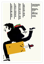 Cuban decor Graphic Design movie Poster 4 film.A Chinese in CHINA.French art
