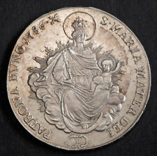 1786, Kingdom of Hungary, Joseph II. Large Silver Madonna Thaler Coin. Kremnitz!