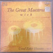 THE GREAT MAESTROS. CD. Ustad Hussain. Ustad Khan. Ravi Shankar.  STILL SEALED.
