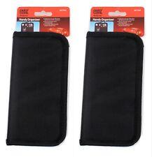 2 x Car Organiser Storage Wallets Card Pen Mobile Pocket Pouch Headrest Strap UK