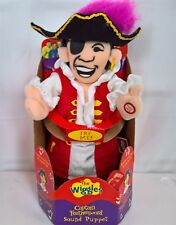 ~ Wiggles - LARGE 28cm CAPATAIN FEATHERSWORD SINGING PUPPET DOLL FIGURE Few Left