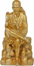 "MasterFine Sai Baba Shirdi Saint of Hindu 20.5"" Real Brass Jai God Statue 16 KG"