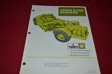 Terex S-35E Scraper Pan Dealer's Brochure DCPA6