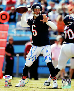 JAY CUTLER AUTHENTIC AUTOGRAPHED SIGNED 8X10 PHOTO CHICAGO BEARS PSA/DNA 102501