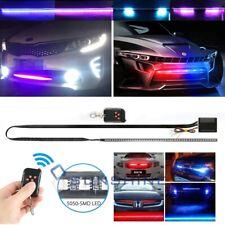 22 Inch RGB Knight Rider Scanner Flash Light Strip Car Strobe 48 LED Kit 7 Color