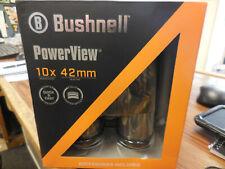 Bushnell PowerView Roof 10x42mm Binoculars - Black